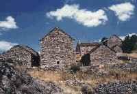 hameau granitique, Bassy - Mont Lozère