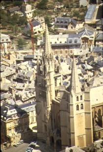 La cathédrale gothique de Mende