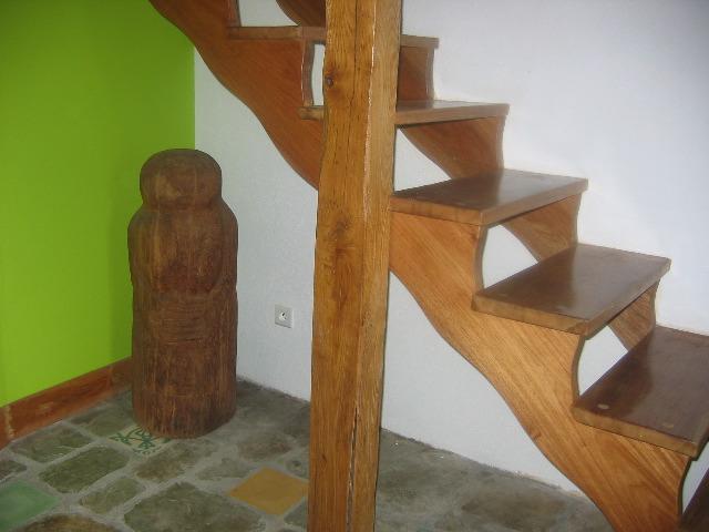 Escalier Bois Droit : escalier sur mesure escaliers bois