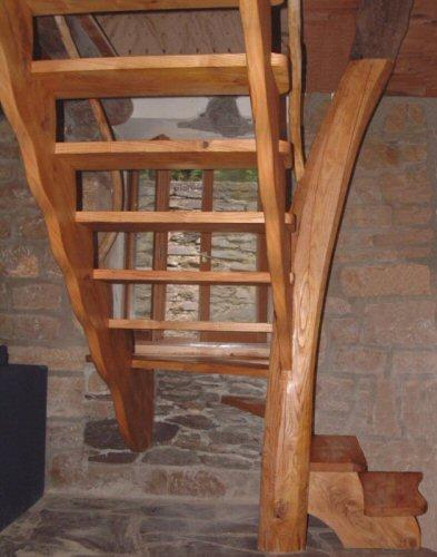Escalier Bois Sur Mesure : escalier bois sur mesure