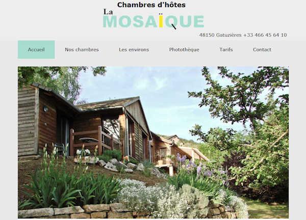 chambres d'hotes avec jardin en cevennes entre mont aigoual et