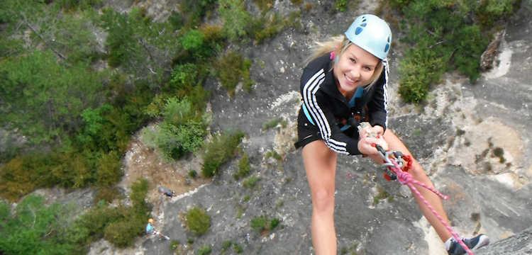 Découvrez la Via Ferrata à la fois ludique et sportive dans ces fabuleux paysages des Gorges du Tarn en Lozère.